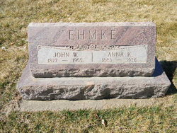 John William J.W. Ehmke