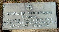 Sinclair Streetman
