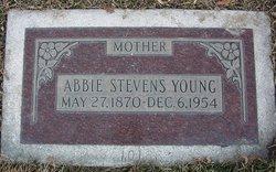 Abigail Abbie <i>Stevens</i> Young