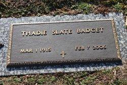 Thadie <i>Slate</i> Badgett