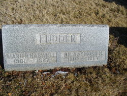 Marion <i>Haswell</i> Ludden