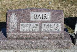 Matilda A. Tillie <i>Gouker</i> Bair