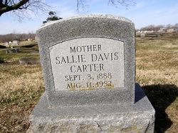 Sallie <i>Davis</i> Carter