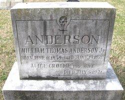 Alice <i>Groome</i> Anderson