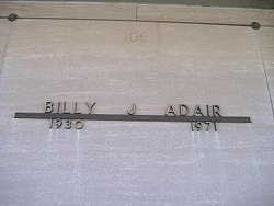 Billy J Adair