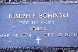 Joseph F. Bohinski, Sr