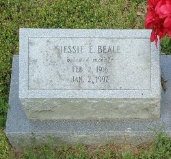 Jessie Elizabeth <i>Edwards</i> Beale