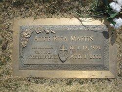 Alice Rita Mastin