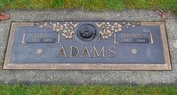 Beverley Jean <i>Davis</i> Adams