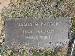 James M Barber