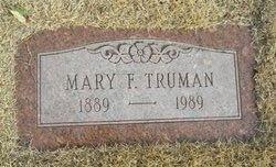 Mary F Truman