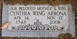 Mary Cynthia <i>Wing</i> Arrona