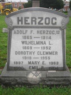 Wilhelmina L Minnie <i>Herzog</i> Herzog