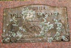 Mildred E Knapp