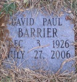 David Paul Barrier