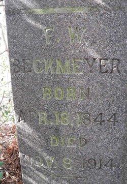 F William Beckmeyer