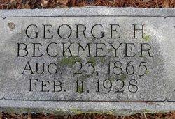 George H Beckmeyer