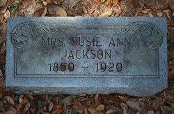 Susie Ann Jackson