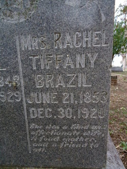 Rachel <i>Tiffany</i> Brazil