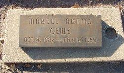 Mabell <i>Willson</i> Gewe