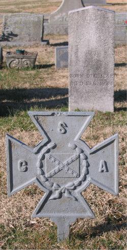 Pvt Abraham Allen Barbee