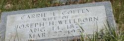 Carrie Elizabeth <i>Coffey</i> Wellborn