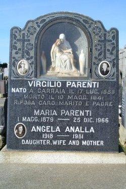 Angela Mary <i>Parenti</i> Analla