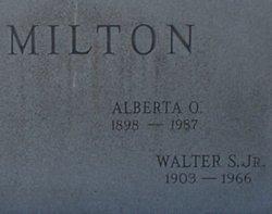 Walter S. Milton, Jr