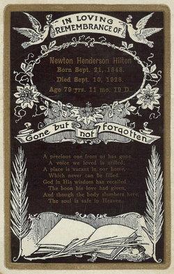 Newton Henderson Newt Hilton