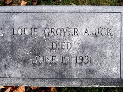 Louie <i>Grover</i> Amick