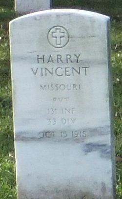 Pvt Harry Vincent