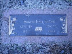 Imogene Hall Brown
