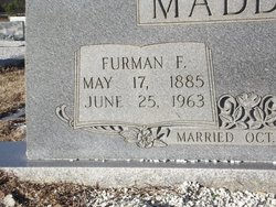 Furman Ferdinand Maddox
