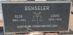 Else Frieda Kati <i>Arndt</i> Benseler