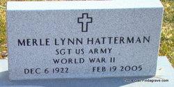 Sgt Merle Lynn Hatterman