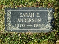 Sarah Elizabeth Sadie <i>Morris</i> Anderson