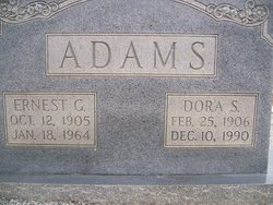 Ernest Garnett Adams