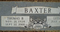 Thomas Benjamin Baxter