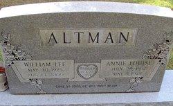 William Lee Altman