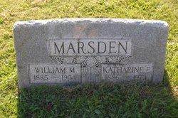 Katharine E <i>Tremmel</i> Marsden