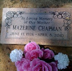 Mazerine <i>Davis</i> Chapman