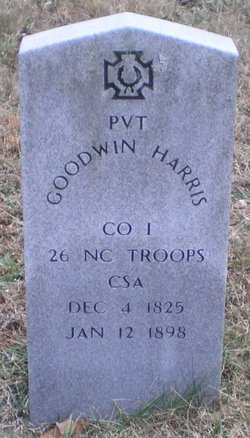 Pvt C Goodwin Harris