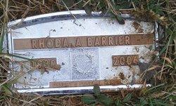 Rhoda Alberta <i>Holsclaw</i> Barrier