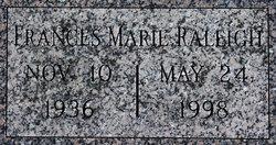 Frances Marie Raleigh