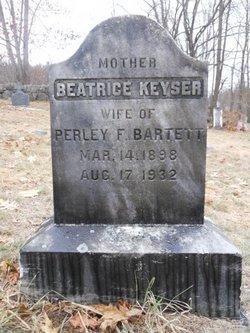 Beatrice <i>Keyser</i> Bartlett