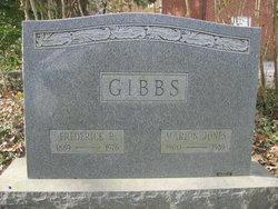 Marion <i>Jones</i> Gibbs