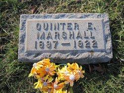 Quinter Elwood Marshall