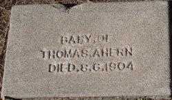 Infant Ahern