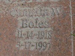 Camilla Winona <i>Boles</i> Barnhill