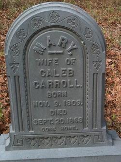 Mary <i>Porter</i> Carroll